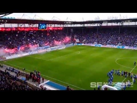 1. FC Magdeburg gegen SG Dynamo Dresden Choreo am 16.04.2016 (HD Apr. 2016)