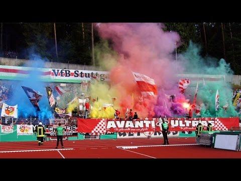 FC Homburg - VfB Stuttgart - DFB Pokal 16/17 Ultras CannstatterKurveTV