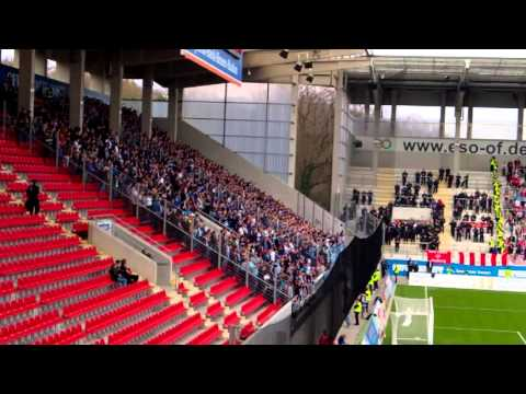 Mannheim Fans in Offenbach 2016