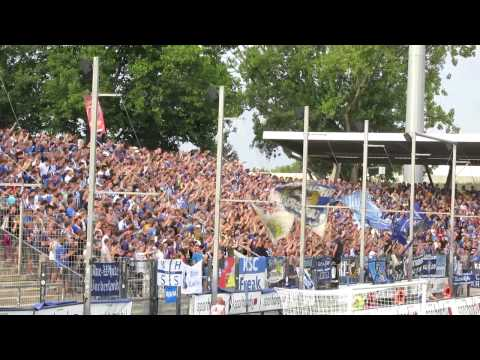 Karlsruhe Support in Frankfurt 2014/15