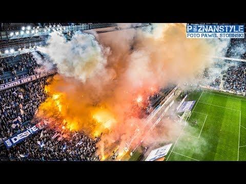 10 MINUTOWE PIROSHOW LECH POZNAŃ ULTRAS na meczu z Legią Warszawa (01.10.2017)