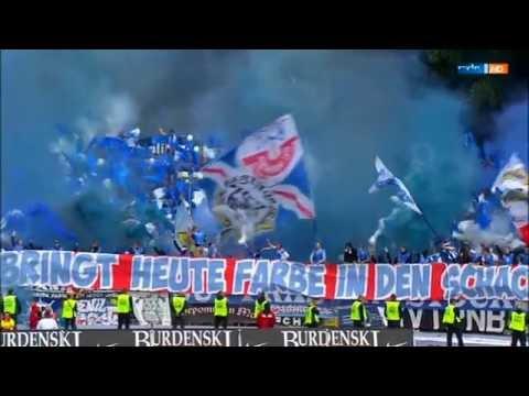 Pyro - Choreo FC Hansa Rostock in Aue |15/16