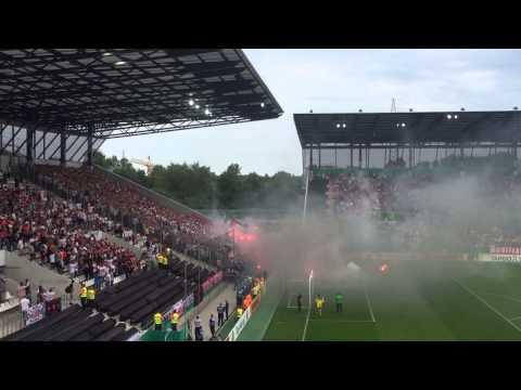Pyro | Rot-Weiß Essen - Fortuna Düsseldorf