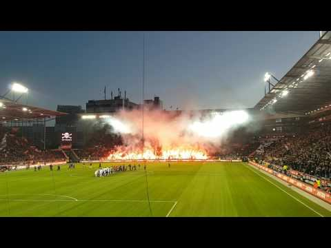 St. Pauli - 1. FC Union Berlin - nice Choreo from Pauli