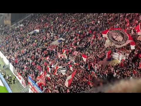 1.FC Köln Pyro + Support in Mainz 2019