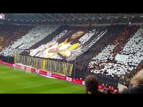 15.10.2016 SG Dynamo Dresden vs VfB Stuttgart Choreografie