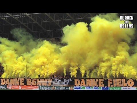SG Dynamo Dresden 2:1 FC Hansa Rostock 23.05.2015 | Choreo, Pyro, Support & Fanmarsch