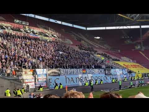 Hansa Rostock Fans in Kaiserslautern 2019