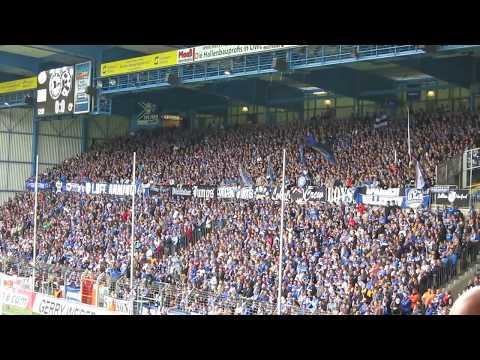 Arminia Bielefeld Support vs Stuttgarter Kickers 2014