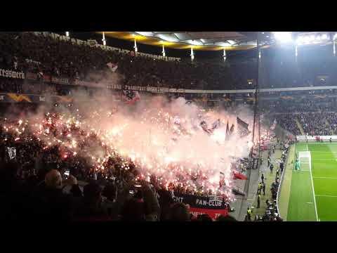 Eintracht Frankfurt - Apollon Limassol FC - 26.10. - Wunderkerzen