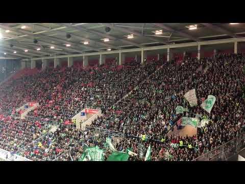 Werder Bremen Fans in Mainz 2018