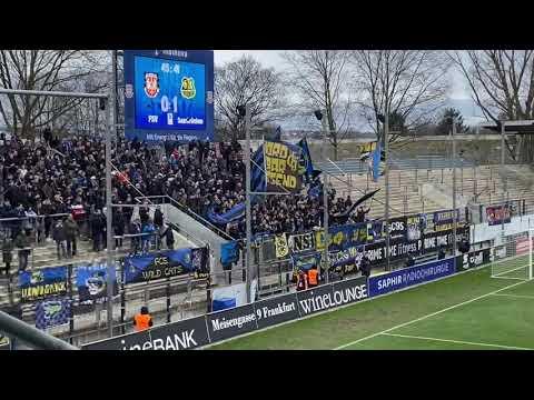 1.FC Saarbrücken Support in Frankfurt 2020