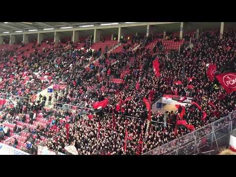 1.FC Nürnberg Fans in Mainz 2019