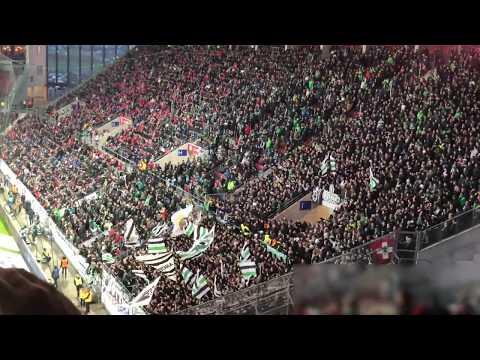 Mönchengladbach Fans in Mainz 2019