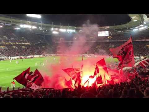 Kurvensicht / VfB Stuttgart - Fortuna Düsseldorf 2:0 / 06.02.2017