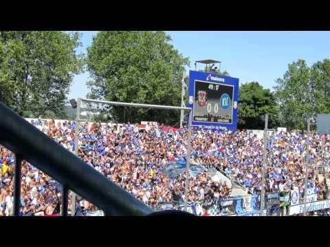 KSC Fans beim FSV Frankfurt