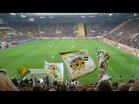 Dynamo Dresden gegen Stuttgart Stimmung 15.10.16