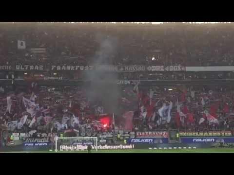 Pyroshow Eintracht Frankfurt 1:1 1.FC Nürnberg Relegation