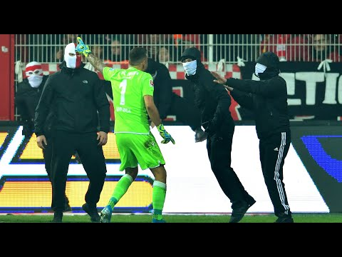 Union Berlin Goalkeeper Rafa Gikiewicz Confronts Own Fans In Chaotic Berlin Derby | 02/11/2019