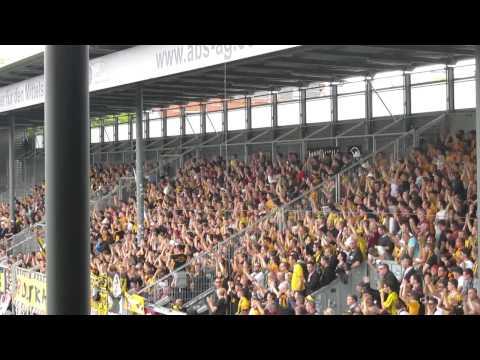 Dynamo Dresden Fans in Wiesbaden 2014