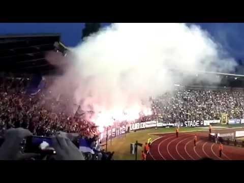 Hertha Pyro | Hertha-Bröndby | Europa League Hinspiel 28.7.2016