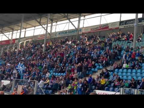 Magdeburg Fans vs Großaspach