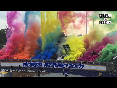 FC Carl Zeiss Jena 0:0 Wacker Nordhausen 23.10.2016 | Choreo, Pyro & Support