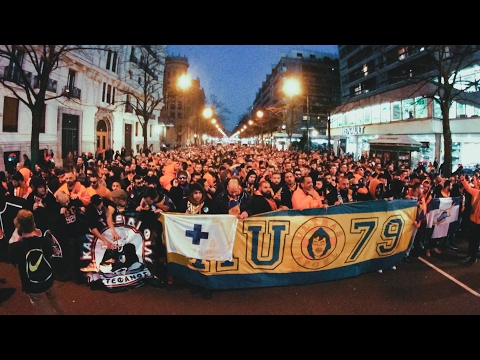 APOEL ULTRAS Taking over Bilbao! • 16/02/2017