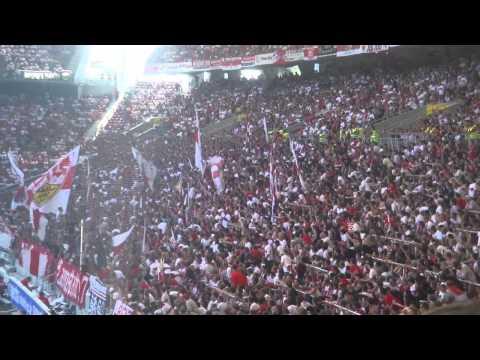 Stuttgart vs Hannover Fans