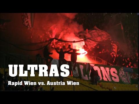 PYRO | ULTRAS Rapid Wien vs. Austria Wien | 320. Wiener Derby | 12.02.2017