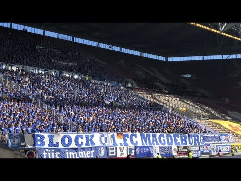 1.FC Magdeburg Support in Kaiserslautern 2019