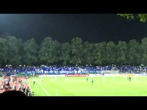 Choreo + Pyro Schalke 04 // FC SCHWEINFURT - SCHALKE 04 17.08.2018