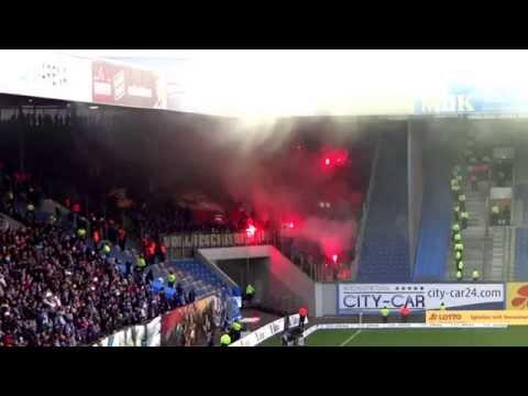 "Hansa Rostock - Dynamo Dresden 29.11.2014 Gäste ""Choreo"""