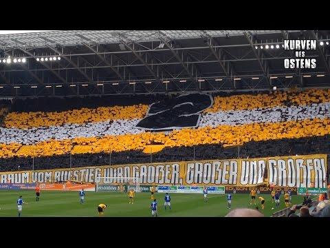 SG Dynamo Dresden 2:2 FC Hansa Rostock 19.03.2016 | Choreos & Support
