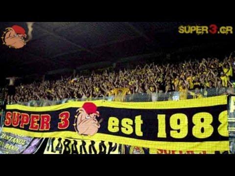 Austria Wien vs ARIS Thessaloniki || 2.000 ARIS fans in Wien