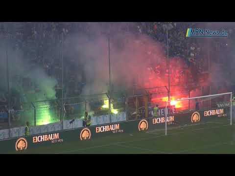 SV Waldhof Mannheim 07 KFC Uerdingen Spielabbruch
