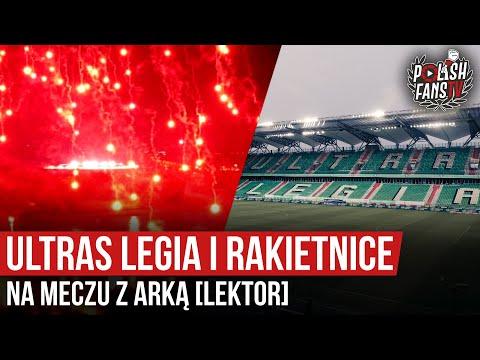 Ultras Legia i rakietnice na meczu z Arką [LEKTOR] (10.06.2020 r.)