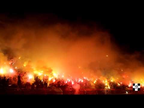 VELIKA BAKLJADA NA JUGU | 148 derbi Zvezda - Partizan 25.04.2015