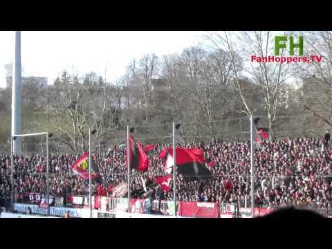 Nürnberg Fans in Frankfurt 2015
