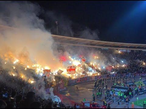 153rd Belgrade Derby - Crvena zvezda vs. Partizan (153 derbi Delije and Grobari, 04/03/17)