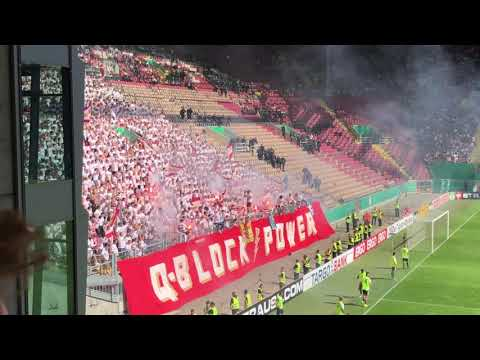 Mainz 05 Support + Pyro in Kaiserslautern Pokal 2019