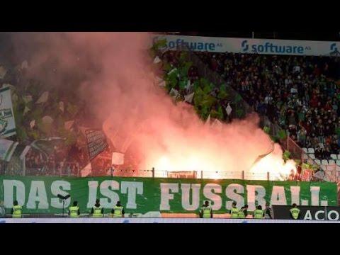 Bremer Pyroshow in Darmstadt (SV Darmstadt 98 - Werder Bremen 2:1 | 22.09.15)
