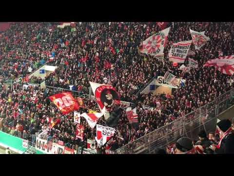 VfB Stuttgart Fans in Mainz Pokal 17/18