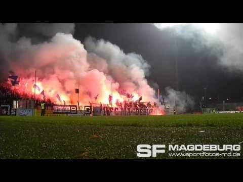 SV Babelsberg 03 gegen 1. FC Magdeburg - Silvesterliche Eindrücke - www.sportfotos-md.de