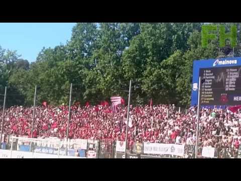 St.Pauli Fans in Frankfurt